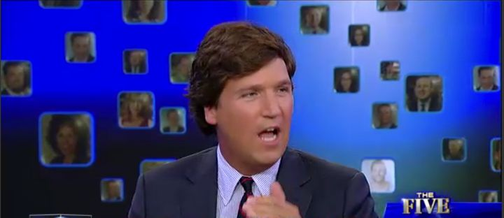 "Tucker Carlson, ""The Five"" guest host and founder and editor-in-chief of The Daily Caller, says he loves the term ""illegal al"