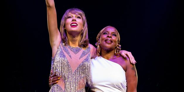 Taylor Swift Gets Down With Mary J. Blige