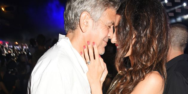 George And Amal Clooney Cozy Up At Casamigos Launch Party In Ibiza