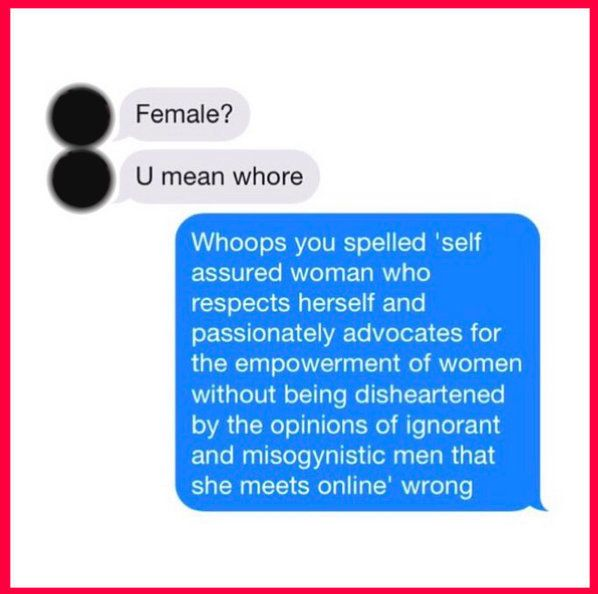 What Happened When This Woman Included 'Feminist' On Her Tinder