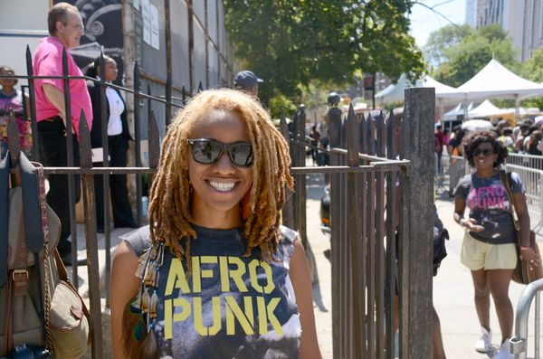 "<span style=""color: #000000;"">""AFROPUNK means liberation of expression to black culture. People are free to be themselves, we"