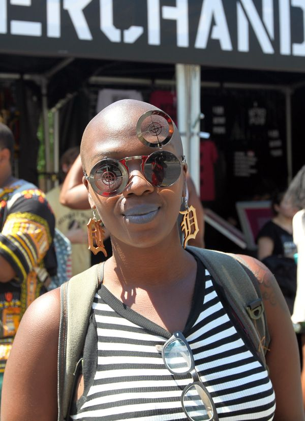 """Black beauty means: """" Owning one's authenticity and wearing it."""" - Violeta, 29, Detroit"""