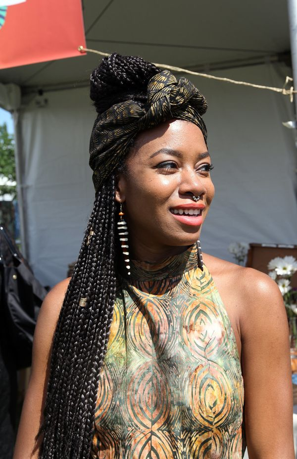"""Black beauty means: """"Something that can't be defined but always sought after."""" - Nnenna, Brooklyn, New York"""