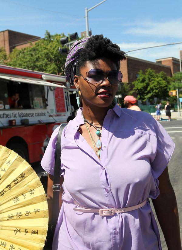 "Black beauty means: ""It's all encompassing."" - Briana, 27, Charlotte, North Carolina"