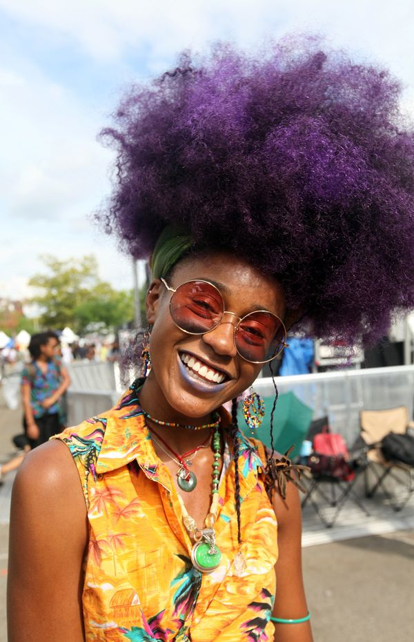 """Black beauty means: """"Heavenly beauty dipped in love"""" - Ayade, 18,Dallas, Texas"""
