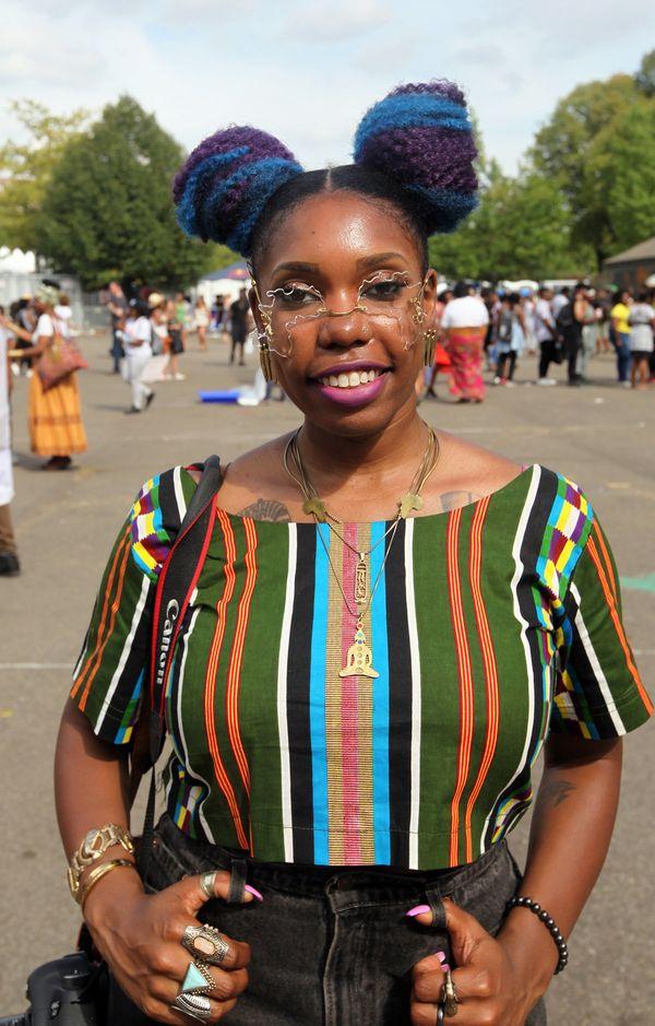 "Black beauty means: ""Self love."" - Danielle, 30, Brooklyn, New York"