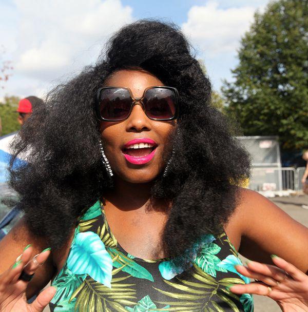 """Black beauty means: """"Melanin."""" - Ivory, 36, Pasadena, California"""