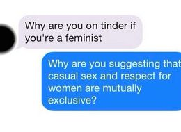 What Happened When This Woman Included 'Feminist' On Her Tinder Profile