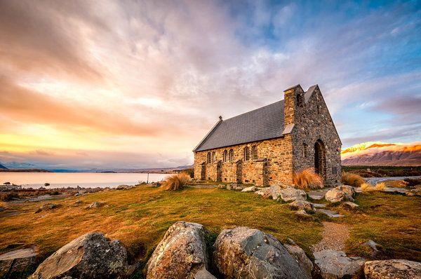 <p>Church of the Good Shepherd, on Lake Tekapo.</p>