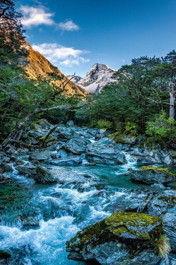 <p>Mount Cook,&nbsp;New Zealand's highest mountain.</p>