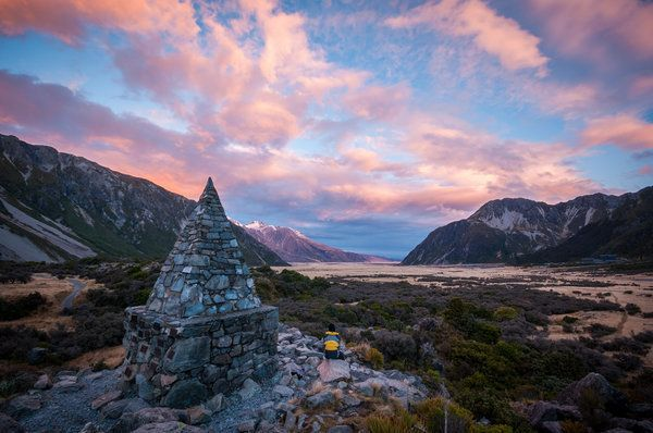 <p>Sunset at Mount Cook.</p>