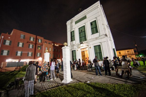 A general view of the atmosphere at St. Heron's '17 Wards' Weekend Wine & Grind for Essence Festival at Etoile Polaire No