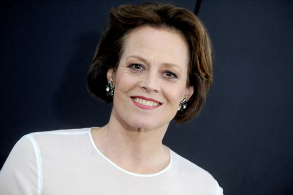"A positive outlook is the one thing you need to be able to cope with an empty nest, Sigourney Weaver says. ""<span style=""colo"