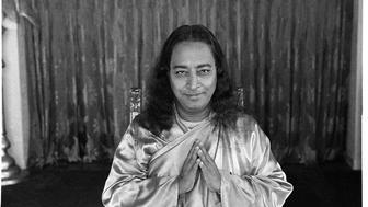 <p>Paramahansa Yogananda, SRF Encinitas Hermitage, 1947.</p>
