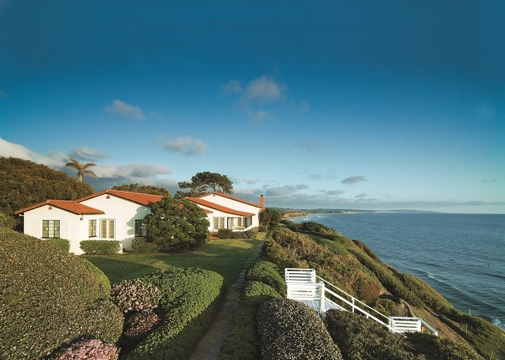The Self-Realization Fellowship Hermitage in Encinitas, California was a surprise gift to Paramahansa Yogananda from his disc