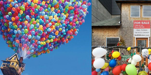 The Real-Life 'Up' House Is Getting Its Own Movie And Memoir