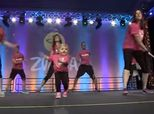 6-Year-Old Girl With Bone Marrow Disorder Slays At Zumba