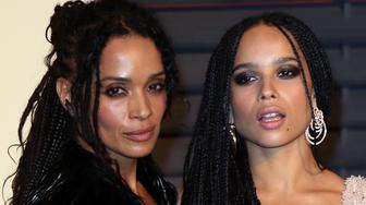 BEVERLY HILLS, CA - FEBRUARY 22:  Actress Lisa Bonet (L) and daughter actress Zoe Kravitz attend the 2015 Vanity Fair Oscar Party hosted by Graydon Carter at the Wallis Annenberg Center for the Performing Arts on February 22, 2015 in Beverly Hills, California.  (Photo by David Livingston/Getty Images)