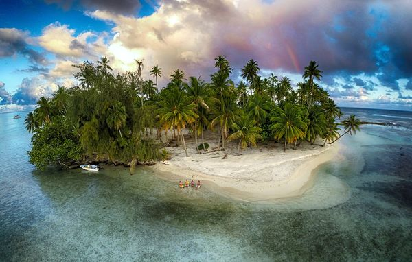 "Third prize in ""nature"": Lost island, Tahaa, French Polynesia"