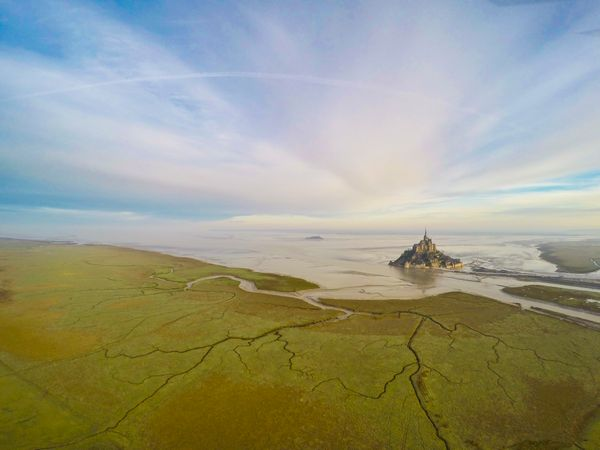 "Second prize in ""places"": Mont Saint Michel in Normandie, France"