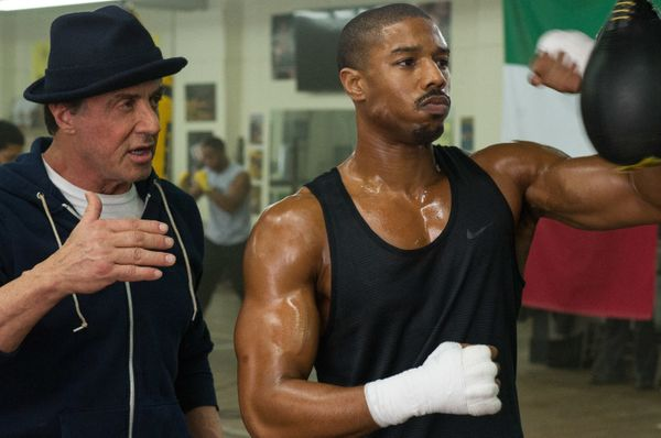 Directed by Ryan Coogler • Written by Ryan Coogler and Aaron Covington Starring Michael B. Jordan, Sylvester Stallone, T