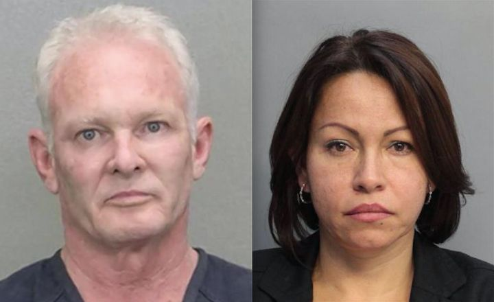 <span>Mark Schreiber, left, and Nery Carvajal-Gonzalez, right, are accused of botching a man's penis enlargement surgeries wi