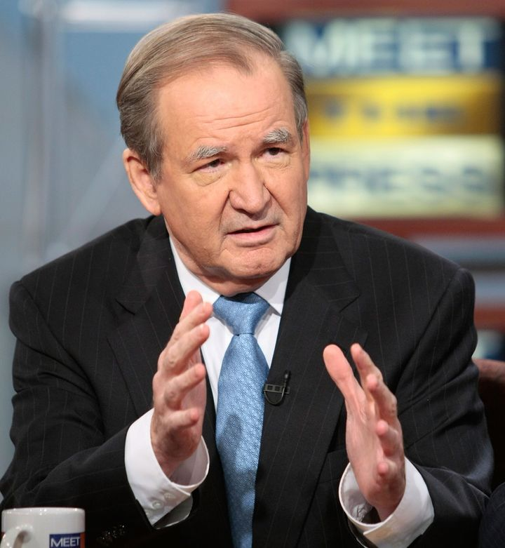 Patrick Buchanan, who ran for president as a Republican in 1992 and 1996 and as a Reform Party candidate in 2000, sees a