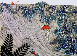 Hawaii Artist Turns Her Surf Sessions Into Delightful Doodles