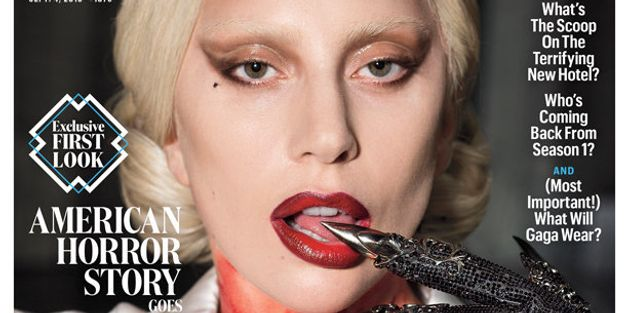 Lady Gaga Is The Bloodthirsty Countess For EW's 'American Horror Story' Cover