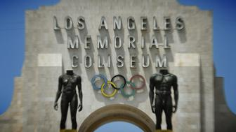 The Los Angeles Memorial Coliseum is seen in Los Angeles on July 30, 2015. the Coliseum will be renovated and used as the main stadium if the city renews its bid for the 2024 Summer Olympics. Boston's troubled bid for the 2024 Olympics has ended amid financial fears and local opposition, leaving the US Olympic Committee to seek a replacement candidate by mid-September. Los Angeles Mayor Eric Garcetti said the Southern California city is still interested, although his office has not spoken to members of the USOC. AFP PHOTO/MARK RALSTON        (Photo credit should read MARK RALSTON/AFP/Getty Images)
