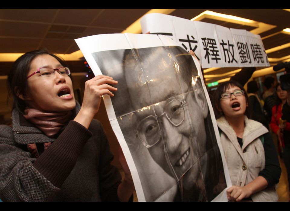 The fourth incarcerated person to receive a Nobel Peace Prize, Chinese dissident and  writer, professor, and human rights act