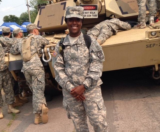 Glenda Blanche is a junior at Prairie View A&M University.She hopes to work as a military police officer or in fiel