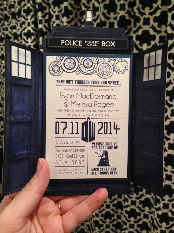 21 adorkable ways to let your nerd flag fly at wedding huffpost - Nerdy Wedding Invitations