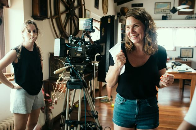 "<span class='image-component__caption' itemprop=""caption"">Erika Lust, a star on the feminist porn scene, at work directing a film.</span>"
