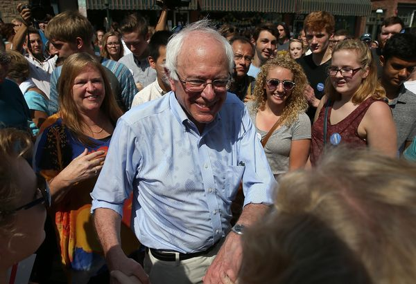"""""""One thing that has disturbed me is how the media treats campaigns,"""" Sanderstold a <a href=""""http://www.msnbc.com/msnbc/"""