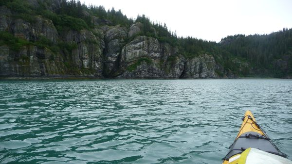"""<a href=""""http://www.alyeskaresort.com/events-activities/summer-sea-kayaking.aspx"""">A sea kayak</a>is the best way to see"""
