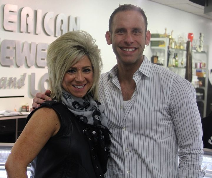 Theresa Caputo and Seth Gold.
