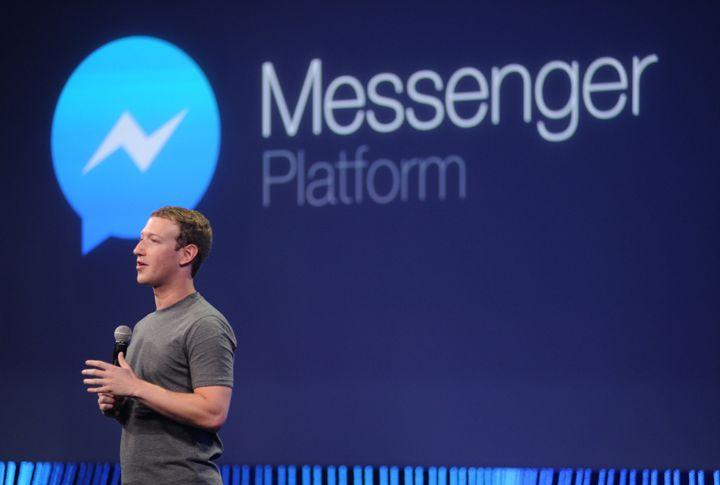Facebook CEO Mark Zuckerberg speaks at the F8 summit in San Francisco, California, on March 25, 2015.