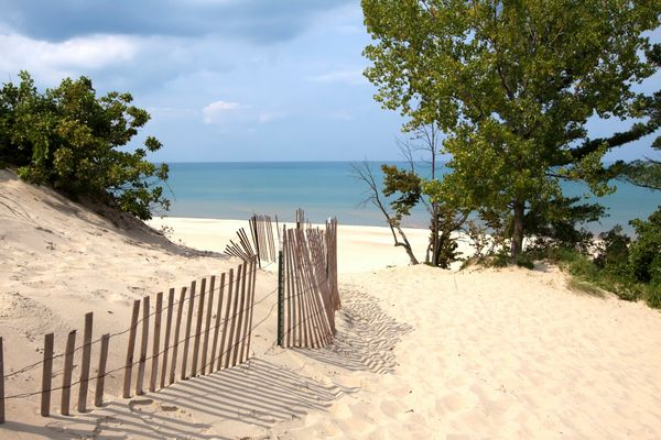 """Fish, swim and soak up the last bits of summer in<a href=""""http://www.in.gov/dnr/parklake/2980.htm"""">Indiana Dunes State"""