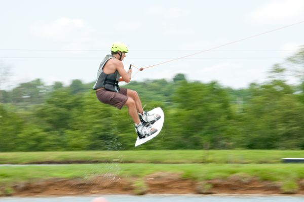 """This <a href=""""http://www.kcwatersports.com/park-features.html"""">skatepark onwater</a>offers all sorts of jumps and"""