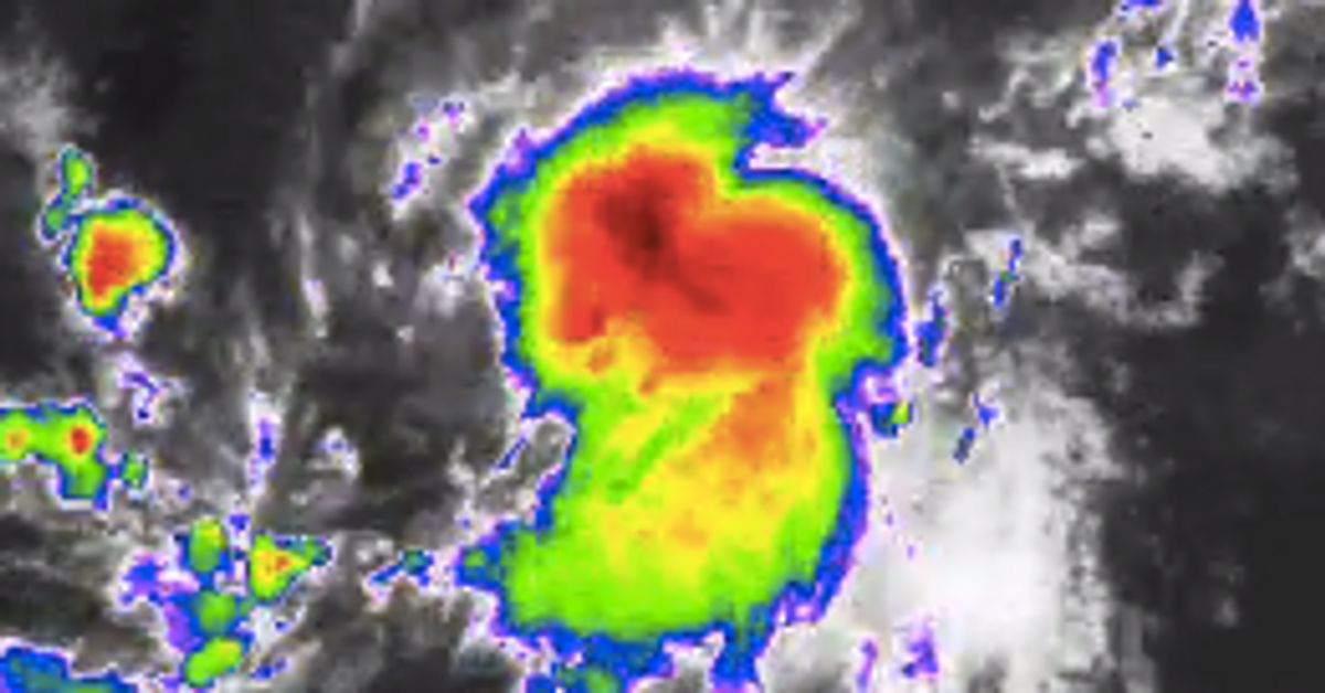 Tropical Storm Erika Nears Hurricane Status In Atlantic