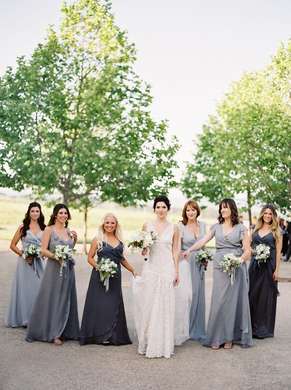 Trubridal wedding blog 15 bridal parties who totally for Post wedding party dress
