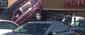 SUV VS TOW TRUCK