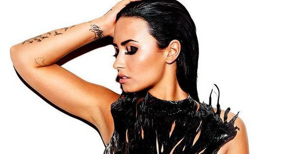 Demi Lovato Releases Sexy Cover Art For New Album, 'Confident'