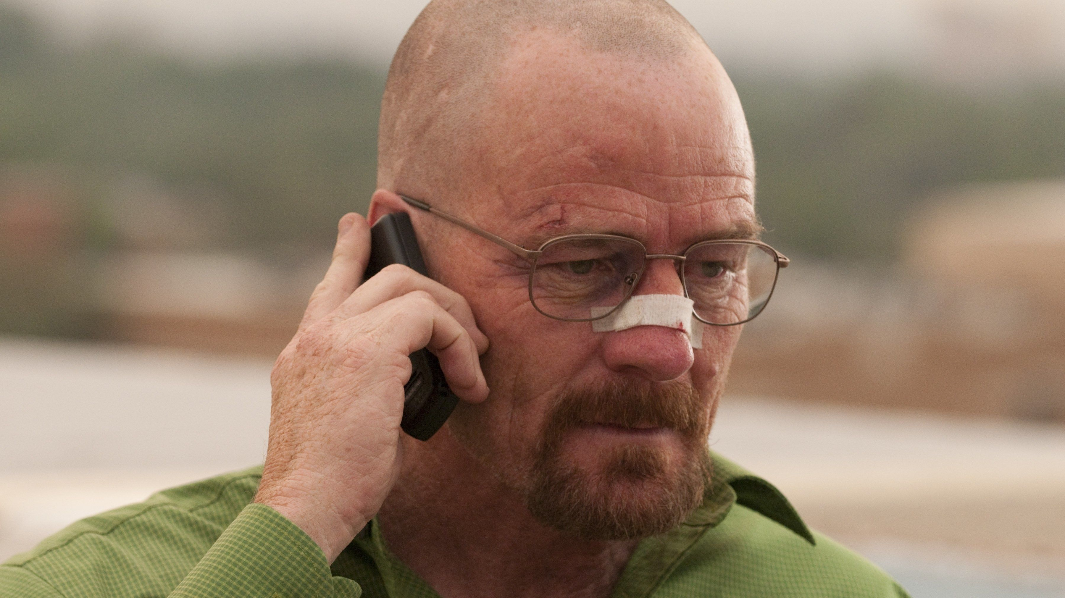 Bryan Cranston as Walter White on AMC's <em>Breaking Bad</em>