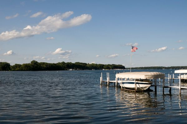"""The <a href=""""http://www.midwestliving.com/travel/iowa/20-top-things-to-do-iowa/?page=3"""">Iowa Great Lakes</a>offer about"""