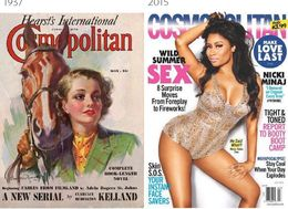 What 100 Years Of Magazine Covers Reveal About How We See Women