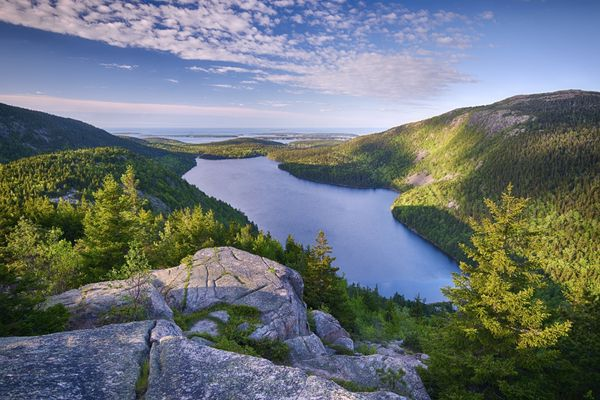 """This <a href=""""http://www.lonelyplanet.com/usa/new-england/acadia-national-park"""">rugged gem</a>is a playgroundof <"""