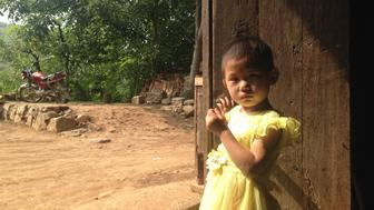 <p>Peng Zhuohan and her grandmother received weekly visits from parenting trainers.</p>