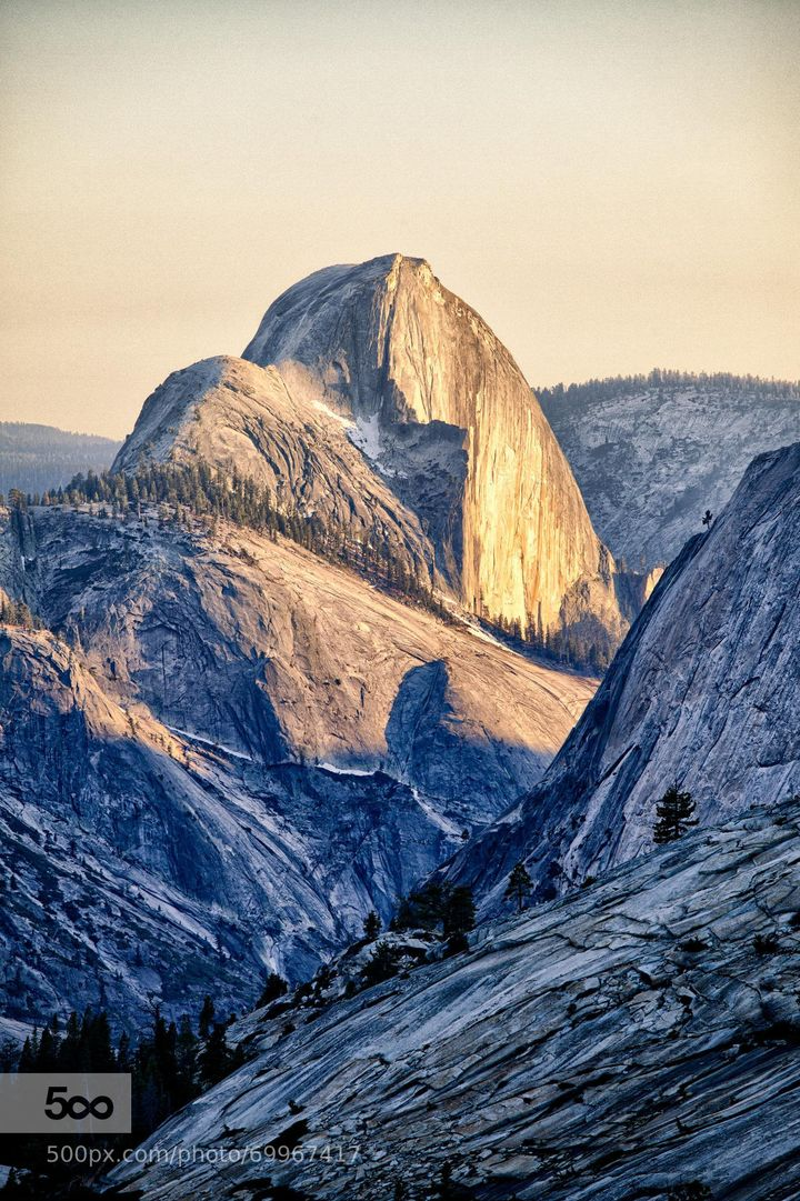 Yosemite: A vista in serious need of another parking lot ... or five, according to one visitor.